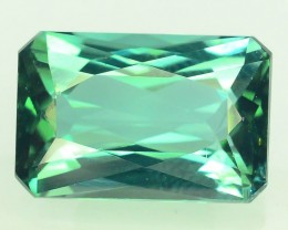 Certified 3.95 cts Flawless Untreated Blue Tourmaline Gemstone Afghan