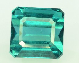 Certified 7.89 cts Flawless Untreated Indicolite Tourmaline Gemstone