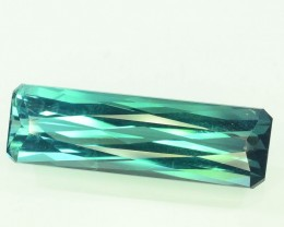 Certified Certified 10.06 cts Untreated Indicolite Tourmaline Gemstone