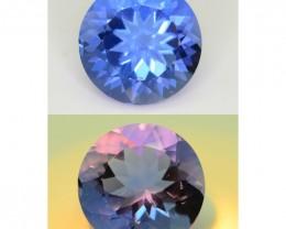 Gil Certified 11.2 ct Color Change Fluorite SKU-1