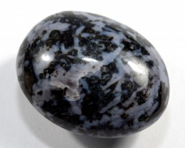 49mm Indigo Gabbro Cabochon Crystal Stone Pebble Madagascar STIGPAA205