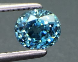 1.49 Ct Natural Zircon Awesome Color ~ Cambodia Kl2