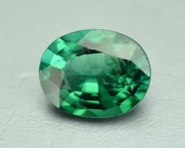 0.81 Cts Fabulous Untreated Mozambique Green Tourmaline