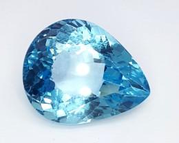 33.35 Crt Natural Topaz Faceted Gemstone (R 86)