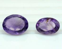 35.95 cts Untreated Amethyst Gemstones Parcel