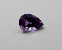 AMETHYST PEAR SHAPED GEMSTONE