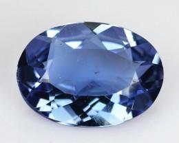 1.44 Cts Natural Blue Beryl (Aquamarine) Oval Brazil Gem