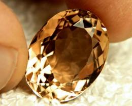 18.38 Carat Golden Brazil VVS Topaz - Superb