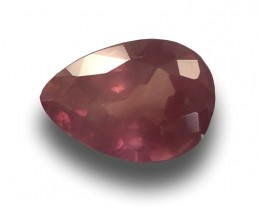 Natural  Unheated Orangish Pink sapphire|Loose Gemstone|Certified|Ceylon