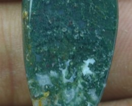 19.60 CT BEAUTIFUL MOSS AGATE (NATURAL+UNTREATED)