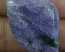 49.60 CT BEAUTIFUL CHAROITE (NATURAL+UNTREATED)