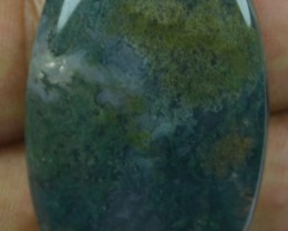 57.35 CT BEAUTIFUL MOSS AGATE (NATURAL+UNTREATED)