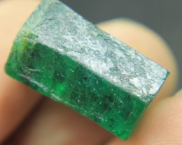 Huge & Very Extremely Precious Swat Emerald DoubleTerminated Crystal F