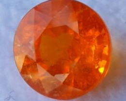4.25 Cts SPARKLING NATURAL RARE ORANGE MANDARIN SPESSARTITE GARNET!!!