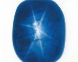 203.67 Cts GRS Certified Unheated Big Size Burmese Blue Star Sapphire