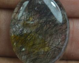20.30 Ct Natural Untreated Rutilated Quartz Gemstone