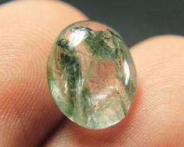 Wow Very Beautiful Cut Greenish BlueRutile (Actinolite)Quartz Collector's