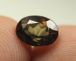 Very Beautiful Rare Bi Color Axinite.