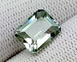 3.25CT GREEN AMETHYST PRASOLITE BEST QUALITY GEMSTONE IGC65