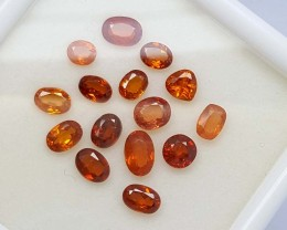 6.15 CT HESSONITE GARNET PARCEL TOP QUALITY GEMSTONE IGC65