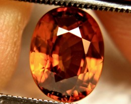 3.63 Carat Whiskey Colored VVS Zircon - Superb