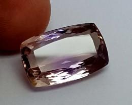 11.85 cts AMETRINE  FROM  BOLIVIA Stunning  Gemstone   Jl401