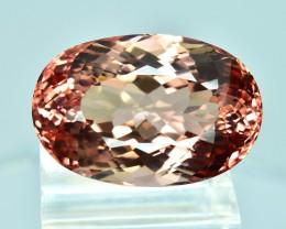 28.06 Cts Gorgeous Sparkling Lustrous Natural Peach Pink Tourmaline