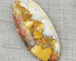 Genuine 54.50 Cts Ocean Jasper Untreated Cab