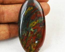 Genuine 76.00 Cts Bloodstone Untreated Cab