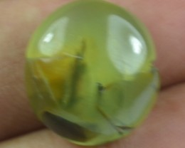 15.50 CT NATURAL UNTREATED PREHNITE GEMSTONE CABOCHON