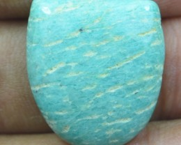 19.25 CT BEAUTIFUL AMAZONITE (NATURAL+UNTREATED)