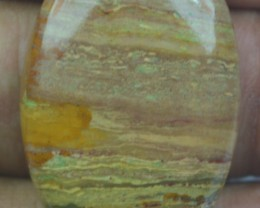 32.25 CT BEAUTIFUL STRIPED JASPER (NATURAL+UNTREATED)