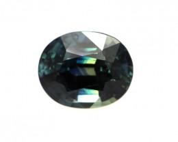 1.09cts Natural Australian Greenish/Blue Sapphire Oval Shape