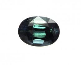 1.18cts Natural Australian greenish/Blue Sapphire Oval Shape