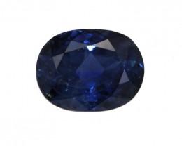 1.08cts Natural Australian Blue Sapphire Oval Shape