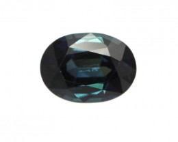 1.00cts Natural Australian Blue Sapphire Oval Shape
