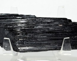 475ct Black Tourmaline Schorl Mineral Cluster Rough Brazil STBTR-VV114