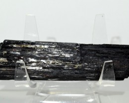 350ct Black Tourmaline Schorl Mineral Cluster Rough Brazil STBTR-VV115