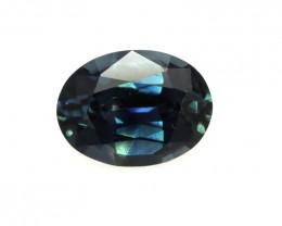 1.00cts Natural Australian Blue Sapphire Oval Shape