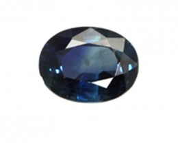 1.04cts Natural Australian Blue Sapphire Oval Shape