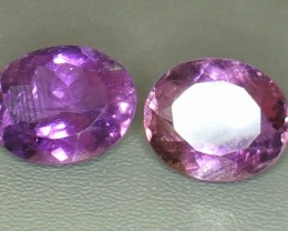10.80 Crt Natural Purple Amethyst Faceted Gemstone (902)