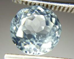 2.15 Crt Natural Aquamarine Faceted Gemstone (902)