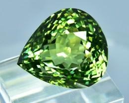 16.95 Cts Dazzling Wonderful Natural Green Tourmaline