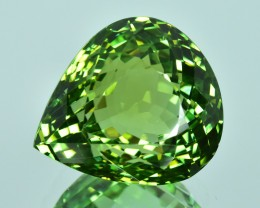 16.95 Cts Dazzling Wonderful Natural Green Tourmaline