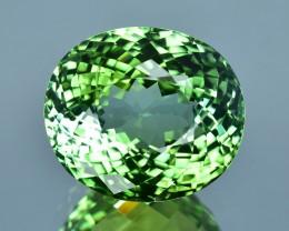 16.74 Cts Fabulous Fine Stone Natural Green Tourmaline