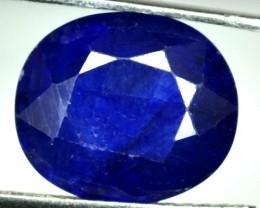 5.07 Cts Blue Sapphire Oval Cut Thailand Gem