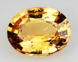 2.99 Cts Natural Imperial Orange Hessonite Garnet Oval Sri Lanka