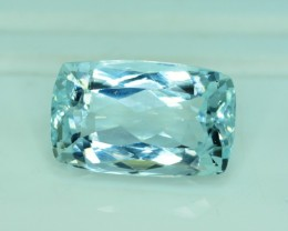 22.30 cts Certified Untreated Aquamarine Gemstone from Pakistan