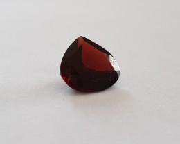 10 carat VVS garnet AAA 14mm pear shape natural gemstone