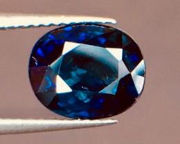 1.21 Ct Magnificent Top Color Sparkling Intense Blue Sapphire ~ 6